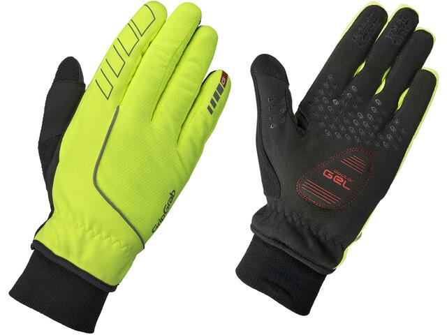 GripGrab Windster Hi-Vis Windproof Winter Gloves Men fluo yellow
